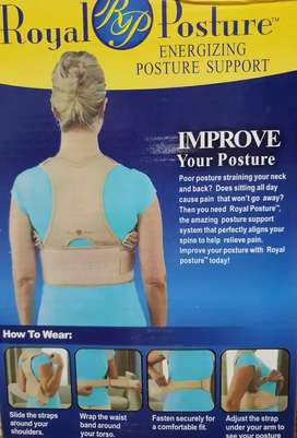*Royal Posture:Spine Alignment and Posture Support*