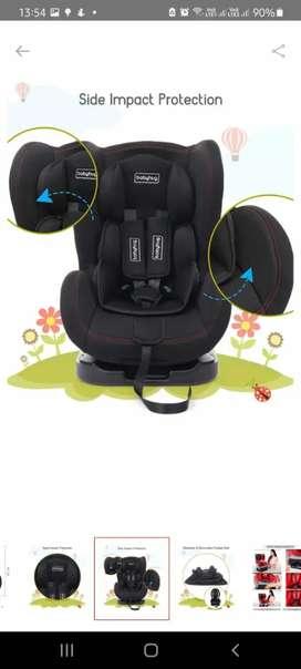 Babyhug Black Car seat