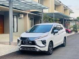 Jual cpt Mitsubishi Xpander Ultimate 2019 putih plat D Bandung murah