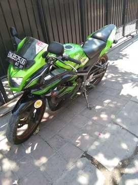 Ninja rr thn 2016 bali dharma motor