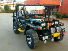 Full modified Jeep ready your