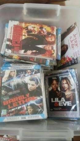 Dijual Kaset DVD Film/Lagu dan kaset PS2 masih bagus