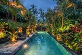 Villa Cantik View Sawah Sangat Tenang dan Asri Lokasi Tegalalang Ubud