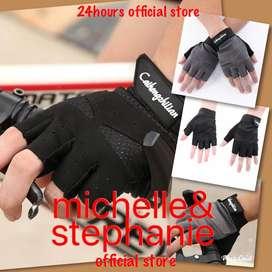 M&S MEN'S STUFF 11-Sarung Tangan Half Finger Anti-Slip / Keringat