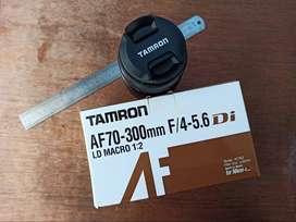 Lensa Tamron For Nikon AF 70-300mm 70-300 Di LD Tele-Macro