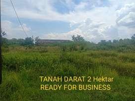 DIJUAL MURAH TANAH DARAT Di Jl. Utama Bandara Syamsudin Noor