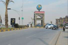 1kanal park face plot available for sale in phase 7 Bahria Town