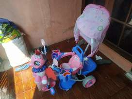 Sepeda family little ponny