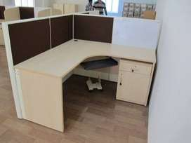 Branded new L-shaped modular workstation for manufacturing  in chennai