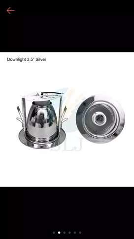 Downlight 3,5'' inch  silver