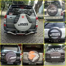 Sarung cover ban serep Rush Terios Escudo Everest Terrano Vitara Jeep