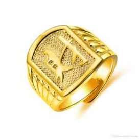 Fashion gold ring nice