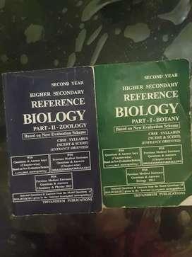 Class12 Higher Secondary REFERENCE BIOLOGY-ZOOLOGY& BOTANY-NCERT&SCERT