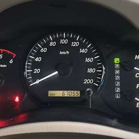KM 66 RB. Toyota Innova G DiESEL Matic 2012 Hitam