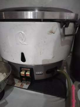 service rice cooker gas