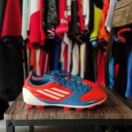 Sepatu Bola Adidas F5 TRX HG Red Blue