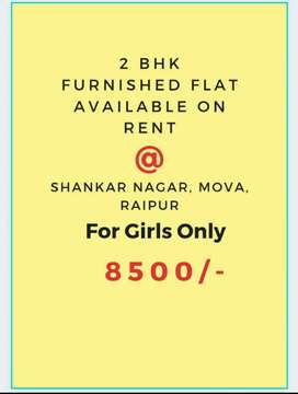 Renting  flat only for working girl's.