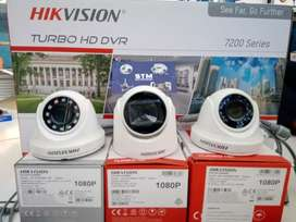 paket cctv online out dor stealth 2 pis 2.0 mp + ps 10.a + hdd 500