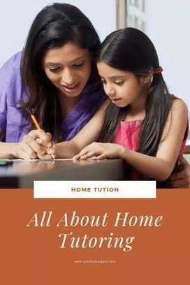 Home Tutions for nursery kids to Degree graduates