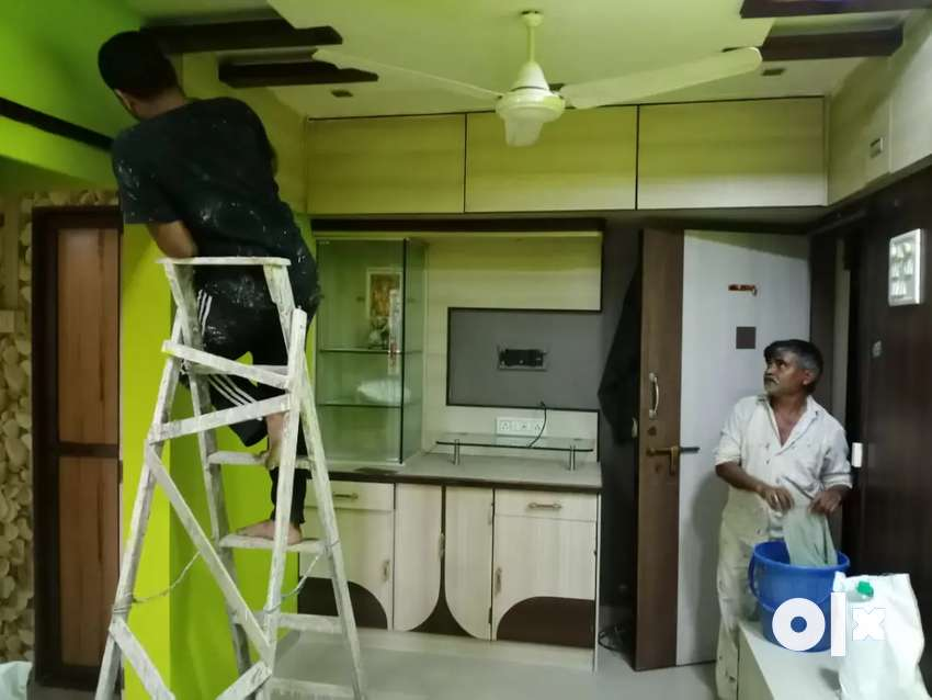 ONE ROOM KITCHEN FOR RENT UNFURNISHED FLAT 0