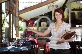 Hostess for a pub