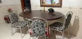 Dining table  and four chair