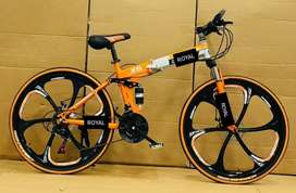 ALL SERIES FOLDABLE SPORT CYCLE WITH 21GEARS...