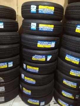 Ban mobil tubles accelera eco plush ukuran 195/60/r15 buat Bridgestone