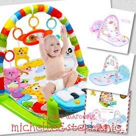 SAY06-Baby Play Gym, Musical, Piano, Multifunctional - Matras