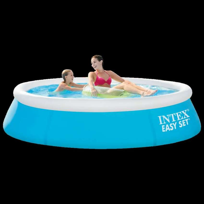 Intex 28101 (size:6ft/20inc) round easyset pool for summer fun. 0