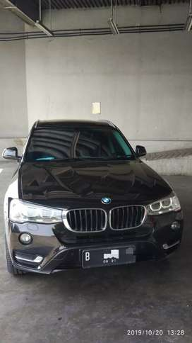 BMW X3 2015 HITAM