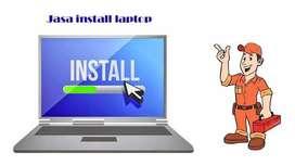 Jasa Install Ulang dan Service Notebook, Laptop dan PC