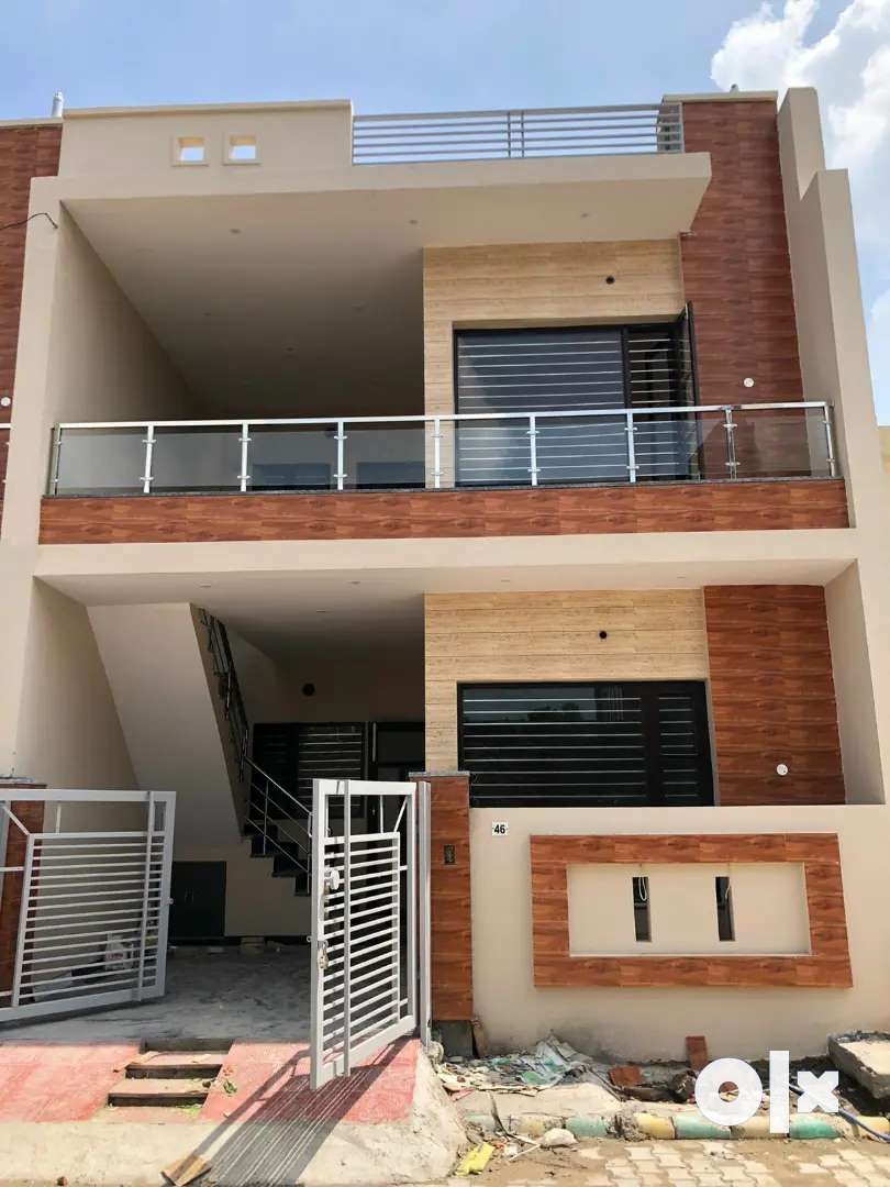 105 Gaj (3 Bhk) @ 45 Lacs Independent 2 Floor House In Kharar