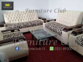 Discount Offer 5 Seaters Sofa Set in Master Molty Foam