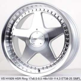 velg bejita H1929 HSR R17X85-95 H8X100-114,3 ET38-25 SMFL