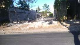 Tanah disewakan jalan lebar