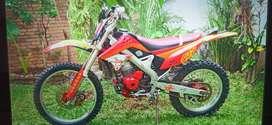 DIJUAL KLX 2013 Bor up 250 CC