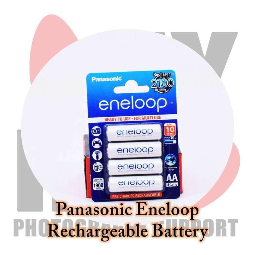 Baterai AA Panasonic Eneloop Rechargeable MURAAAH