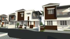 1145 sqft Spacious 3BHK villas @ Vaniyamkulam | 38.90 L on wards