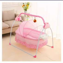 Remotely controlled  baby Cradle Best for Home Use