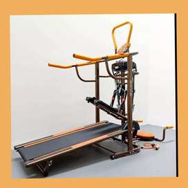 Alat Fitnes murah Treadmil Manual nisa cod rumah