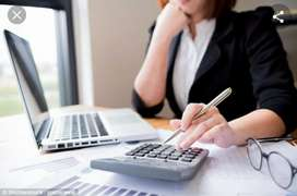 Experienced Female Accountant
