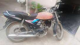 Honda deluxe cd-70 one hand used