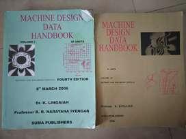 Machine design Volume 1 and volume 2