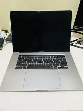 """Macbook Pro 2019 16"""" with 7months of warranty remaining.Mint condition"""