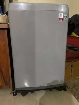 LG fully automatic washing Machine(free Cover  + Stand)