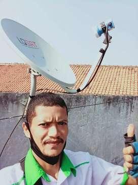 Siaran televisi digital parabola mini free bulanan sawahan