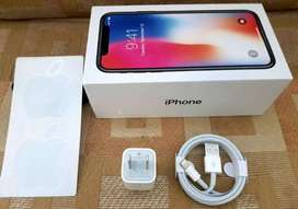 iPhone X 64GB 10/10 condition with Box
