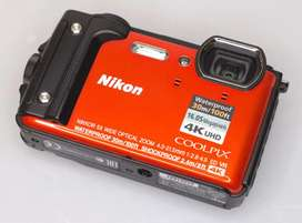 CAMERA UNDERWATER, cocok buat Divers!! Nikon Coolpix W300 (Nego)