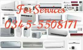 All types of Ac Air conditions install repair service sale purchase